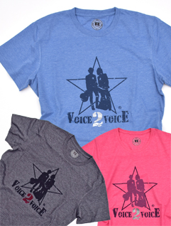 Voice 2 Voice Band Shirt